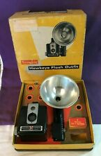 *Vintage KODAK BROWNIE HAWKEYE FLASH OUTFIT CAMERA in Box