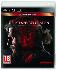 Metal Gear Solid V: The Phantom Pain Day One Edition IMPORT PS3 NUOVO ITALIANO