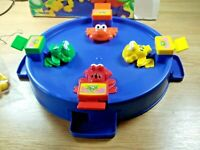 Childrens -family fun game, Collectible Hungary frogs by Chad Valley