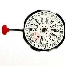 2105 MIYOTA 10-1/2 3 Quartz watch movement battery included calibre MO1014A
