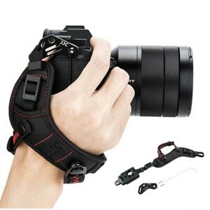 Soft Hand Strap Wrist Grip for Canon Nikon Sony Fuji Olympus Mirrorless Cameras