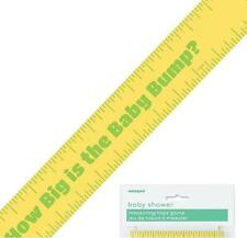 Baby Shower Tummy/Bump Measuring Tape Fun Game (150ft)