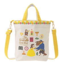 Beauty and the beast 2WAY Tote Bag Storybook Disney Store Japan Gift