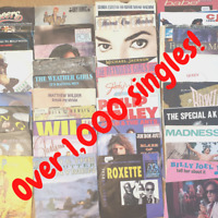 "Sale! Any 7"" Vinyl Singles 1000+ records 60s-90s £1.99each: Buy 7, 1 FREE!"