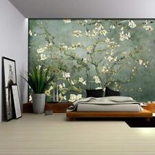"Wall26 Teal ""Almond Blossom"" by Vincent Van Gogh Wall - CVS - 66x96 inches"