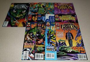 Green Goblin #1 - #13 complete series - lot of 13 Marvel Comics 1995