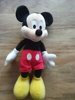 "15"" / 38cms Poseable Mickey Mouse Plush Character. From Disneyland Paris"