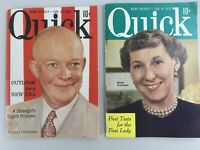 News Weekly Quick Jan 19, 1953 President Eisenhower Feb. 9 1953 Mamie Eisenhower