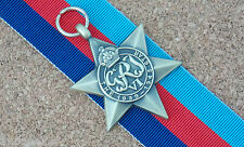 1939 - 1945 STAR FULL SIZE REPRODUCTION OF THE ORIGINAL MEDAL WITH 15 CM RIBBON