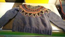 The Woolrich Woman vintage sweater funky pattern good shape women's size Large