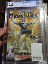 FCBD 2021 Suicide Squad King Shark 🦈 Special Edition #1  (DC Comics) cgc 9.8