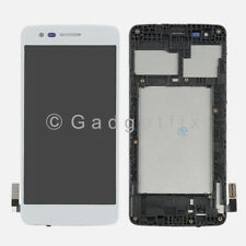 Silver LG Aristo M210 MS210 LV3 K8 2017 Touch Screen Digitizer LCD Display Frame