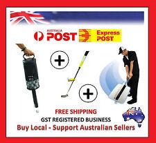 Ultimate Golf Training Package- Golf Shag Bag , Golf Swing Fan , Putting Trainer