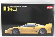 Kyosho Ferrari F40 1/12 Diecast 1:12 Yellow