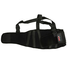 MRX Back Support Belt Shoulder Straps Heavy Weight Lifting Pain Relief Brace 2XL