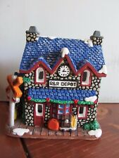 California Creations Christmas Village Hand Painted Dover Station 97449