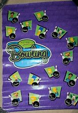 Rare Nos Simpsons Bowling Arcade Vinyl SideArt Two Sides. 44x32. Clean sides