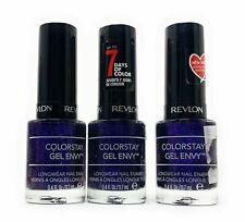 Revlon Colorstay Gel Envy Fingernail Nail Polish - 430 Showtime - Lot of 3