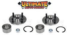 Front Wheel Bearing Hubs (4 Lug) Pair, Left & Right for 94-02 Saturn S Series