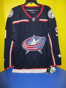Artemi Panarin Columbus Blue Jackets Adidas Authentic Home Pro Jersey NWT Sz. 52