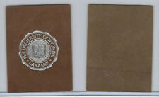 L20 American Tobacco Leather, College Seals, 1912, Wyoming, University