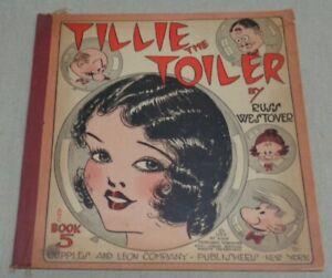 Vintage 1930 TILLIE THE TOILER Book #5