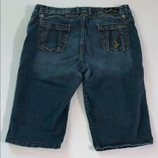 Baby Phat Jean Shorts Plus Size 20 Womens