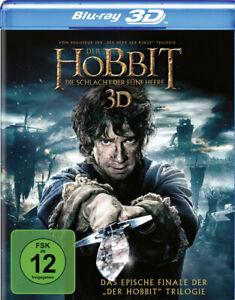 Der Hobbit: Die Schlacht der fünf Heere 3D [4 Discs]