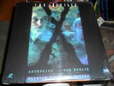 Laserdisc XFILES ASCENSION / ONE BREATH NEW and Sealed Anderson & Ducovny