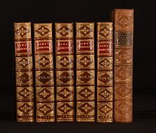 1709 6vol Tonson Shakespear First Edition after the Folio Editions Scarce N Rowe