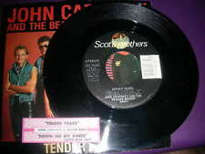 "Pop 45 John Cafferty ""Tender Years /Down On My Knees"" Scotti Bros. 1983 VG+"