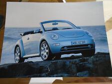 VW Beetle Cabriolet Press Photo Feb 2003 No 1