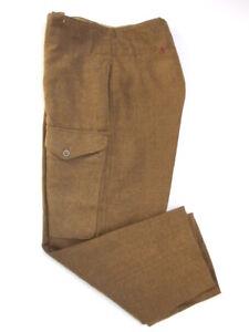 """1940 Pattern British Battledress Trousers. 32"""" Waist"""