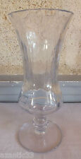 vase cristal martelé crystal vase