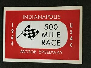 1964 United States Auto Club Indianapolis Motor Speedway Checkered Flag Official