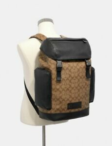 NWT Coach Ranger Backpack In Signature Canvas MSRP $598