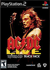 PS2 AC/DC Live RockBand Track Pack PlayStation 2 Never Used Resealed Complete