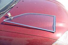 OE RH Rear Quarter Glass Window MGBGT MGB GT Chrome Frame clear glass