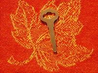 Flat Key For Vtg. Singer Treadle Sewing Machine Drawers