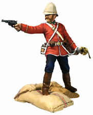 B20190 W.britain Getting a Little Close 24th Foot Officer Le 450 Sets Zulu
