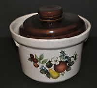 McCoy Pottery Bean Pot Crock with Lid