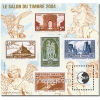 BLOC-FEUILLET SOUVENIR CNEP SALON PHILATÉLIQUE D'AUTOMNE DE PARIS 2004