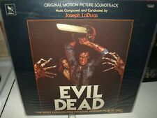 Evil Dead - Joseph Loduca - vinyl film soundtrack album