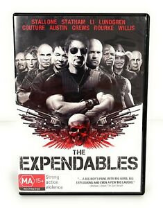 The Expendables (DVD, 2010) Sylvester Stallone Region 4 Free Postage