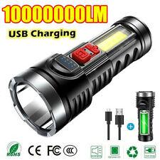 Superhell 100000lm Taschenlampe LED Taktisches Arbeitslicht USB Wiederaufladbare