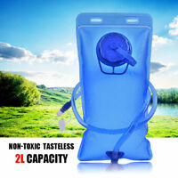 2L Sport Water Bladder Backpack Hydration System Pack Bag for Camping Hiking USA