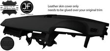 BLACK STITCH TOP DASH DASHBOARD LEATHER COVER FITS RANGE ROVER SPORT 2005-09