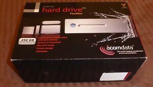 ACOM Data External Firewire 400, 250GB Hard Drive