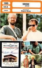 FICHE CINEMA : SMOKE - Keitel,Hurt,Whitaker,Wang 1995