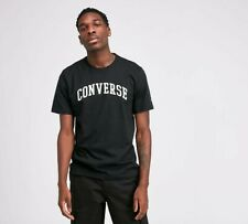 MENS CONVERSE COLLEGIATE PLUS T-SHIRT BLACK (SA2) RRP £24.99